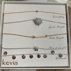 Kevia necklace box set